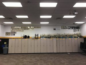Plant HS Band Awards and Trophies